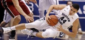 Tyler Haws scores 24 as BYU holds off Stanford, 79-77