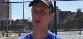 Interview with UMKC Men's Tennis Team member Conner Edwards