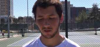 Interview with UMKC Men'sTennis Team member Mike Psarros