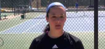 Interview with UMKC Women Tennis Team member Amelie Amsallem