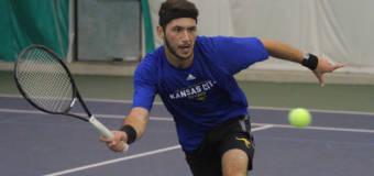 UMKC Men's Tennis Splits Weekend Series, Wins Finale 4-3 Over Weber State