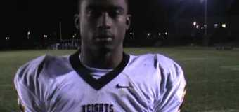 Post Game interview Cleveland Heights with Marcus Bagley