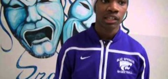 Post Game Interview with Blue Springs Wildcats Taysean Goodwin