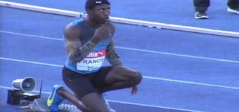 400m men final Jamaica Olympics Trial with Christopher Taylor (16 yrs old)