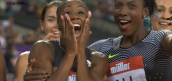 Kendra Harrison 12.20 New World Record in Women's 100m Hurdles – London DL 2016