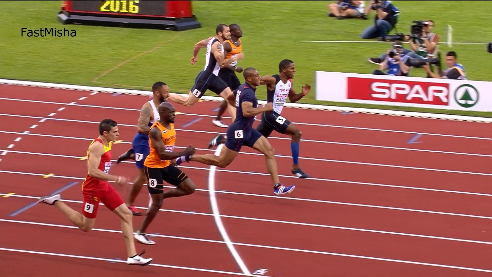 Men's 100m Final – European Athletics Championships 2016 | Cascade Sports | Home Of The Student ...