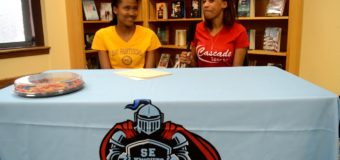 Breon Gunnels Letter of Intent Signing to University of Northern Iowa