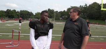 Interview with Izaih Cosey Running Back for Van Horn Varsity Football