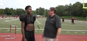 Interview with Terion Seddens wide receiver for Van Horn Varsity