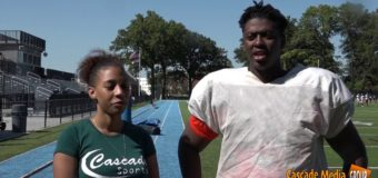 Kenton Schiele RT & DT for University Academy Football