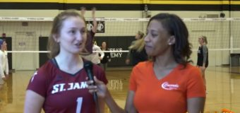 Jackie Storm, Volleyball Player for St. James Academy