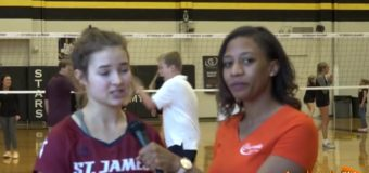 Morgan Miller, Volleyball Player for St James Academy