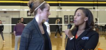 St. James Academy Volleyball Wins Conference Title, Coach Nancy Dorsey