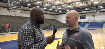 Head Coach Stan Holt of Mens Basketball for Langston University