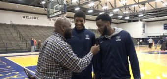 Lincoln's Men's Basketball Forwards Marquise Williams and Terrance Smith