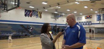 Coach Pete Campbell, Rockhurst Boys Basketball