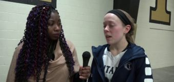 Kenzie Beelers talks about her 3 point shot and winning the game