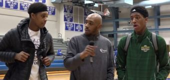 Interview with Columbia Rock Bridge Basketball players Isiaih Mosley and Jamonta Black