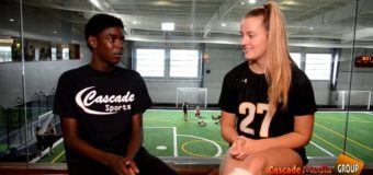 Interview with Margaret McInerney Sophomore member of St.Teresa's Academy Volleyball Team