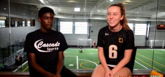 Interview with Margaret Thompson a Senior member of St. Teresa's Academy Volleyball Team