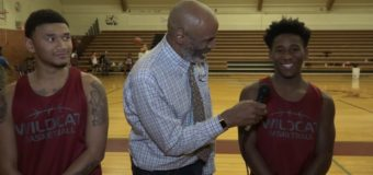 Interview with Washington 2 Guard Kyren Angel and Cyncere Hooks