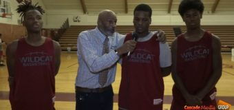 Interview with Washington's 3 Power Forwards Shemar Davis, Cameron Milton,and Thomas Anderson