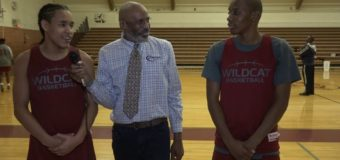 Interview with two members Of the girls Washington Wildcats Basketball Team