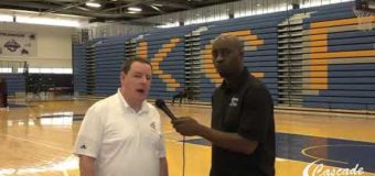 Interview with Men's Head Coach Chris Harris from Harris Stowe State University